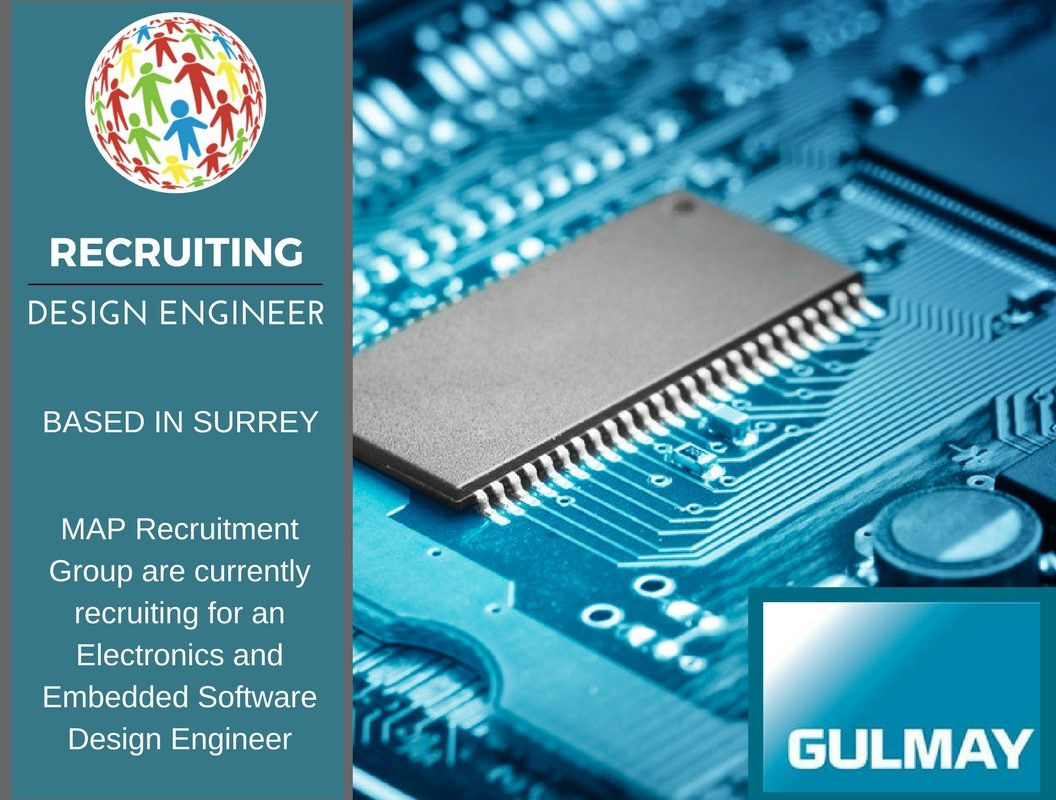 Electronics and Embedded Software Design Engineer, Surrey